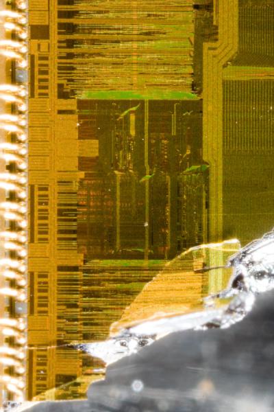 Microprocessor closeups